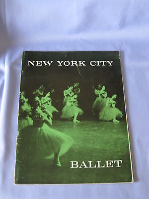 Vintage New York City Ballet Souvenir Book