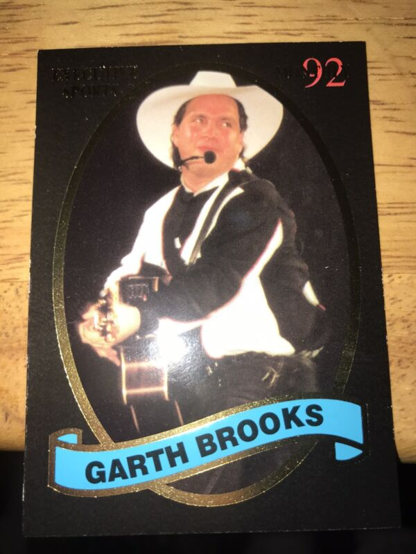 Very Rare Garth Brooks Trading Card by Executive Sports Monthly 1992, #BC08