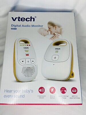 VTech (DM111) Digital Audio Baby Monitor - White