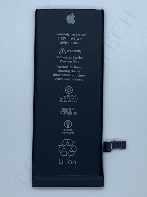 Original  Apple iPhone 6 Internal Battery Replacement For OEM 6 Battery 1810mAh