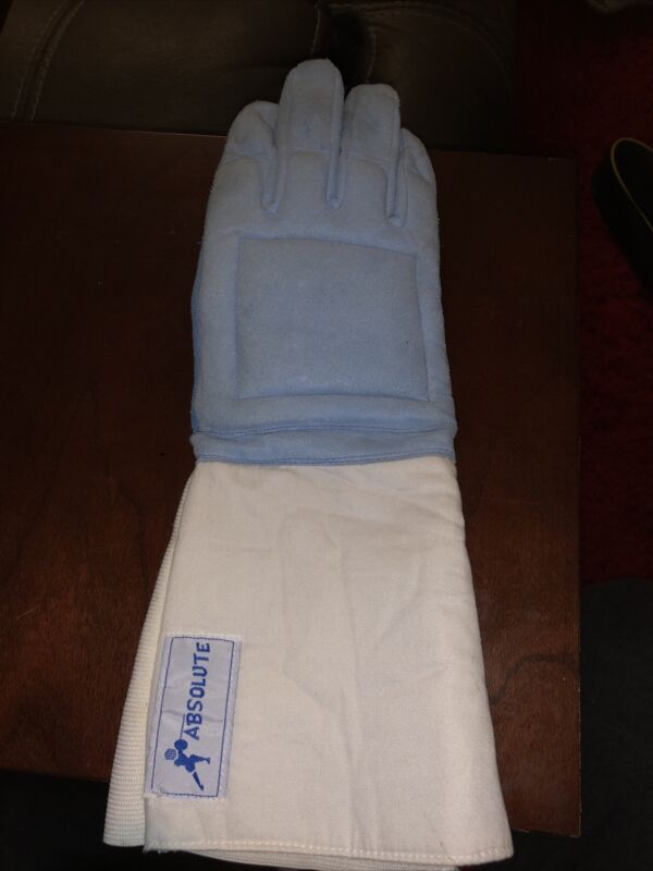 ABSOLUTE FENCING 3-W WASHABLE GLOVE RH SIZE 8.5