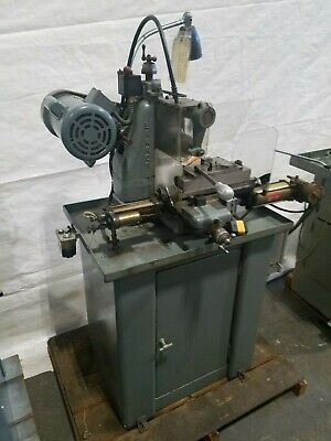 Barker Horizontal Milling Machine Single Phase Slotting Keyways Mill Nice