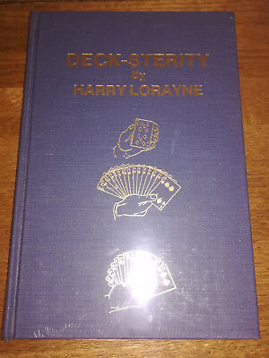 Deck-Sterity by Harry Lorayne Card Magic at Its Best! Brand