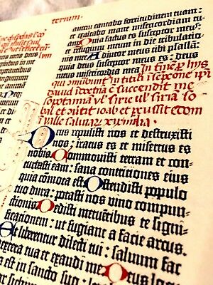Gutenberg Bible, Bavarian State Library version, Facsimile