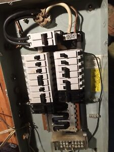 60 Amp Commander electrical panel