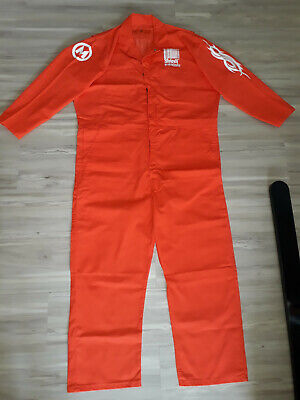 Slipknot Overall Jumpsuit original rarität Made in USA - Slipknot Jumpsuit