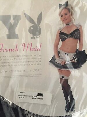 Playboy French Maid Costume Size