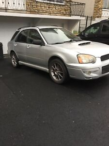 Subaru 2.5rs wagon 2004