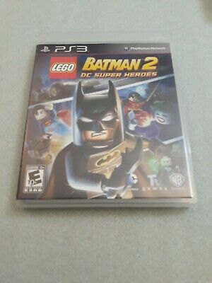 LEGO Batman 2: DC Super Heroes - Playstation 3 - Complete and Tested - PS3
