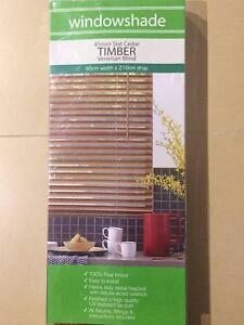Timber Venetian Blind x9 Camira Ipswich City Preview