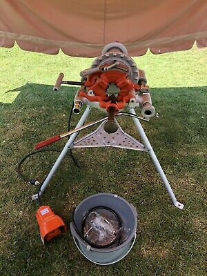 Ridgid 300 T-2 Power Head Threader 57 Rpm Wcarriagecutterdie Headreameretc.