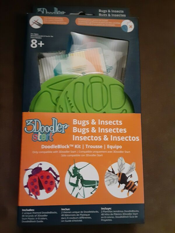 3Doodler Start DoodleBlock Templates Kit - Bugs And Insects
