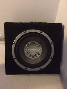 Pioneer Sub Woofer Gunn Palmerston Area Preview