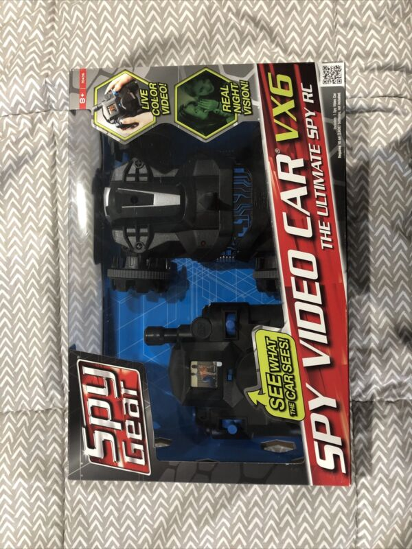 Spy Gear Video RC Car VX6 Black Night Vision Remote Control NIB