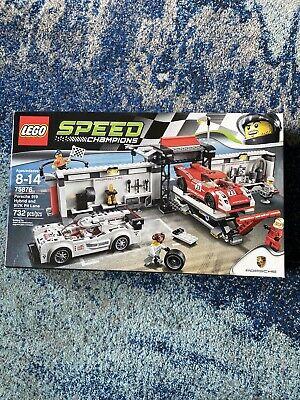 Lego Speed Champions Porsche 919 Hybrid and 917k Pit Lane (75876)