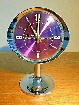 Vintage Retro Mid Century Westclox 'Big Ben' Repeater Alarm Clock