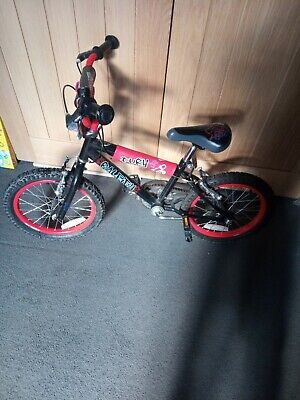 Raleigh Fury Child's Bike 16 INCH with stabilizers