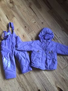 Girls size 3 winter jacket and snow pants