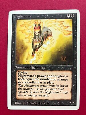 Nightmare | MTG | Revised | LP