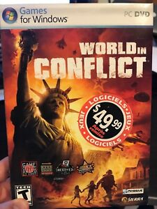 World in Conflict PC DVD Game