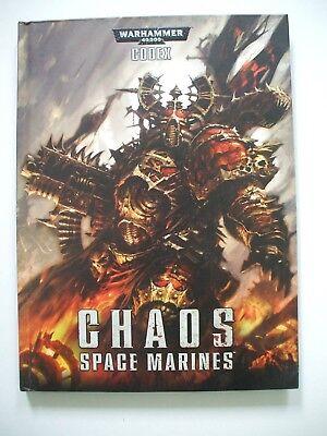 Warhammer 40,000 (40000 40k) Codex Chaos Space Marines 6th (sixth) edition