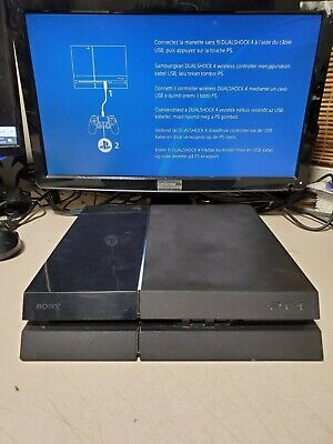 Sony PlayStation 4 (PS4) 500GB Console Only Ready to Play Fast Shipping!