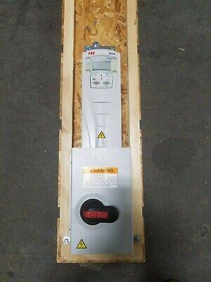 ABB ACH550-PDR-012A-4+E213 7.5HP 5.5kW 380-480V 11.9A 3P HVAC Drive w/Disconnect
