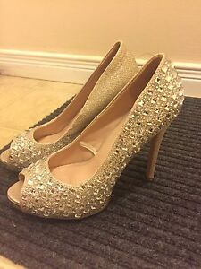 Heels with studs *Like New*
