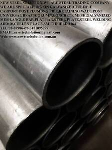 GALVANISED STEEL PIPE-25NB(OD:33.7MM)*2MM  FOR FENCEING,FABRICATI Smithfield Parramatta Area Preview