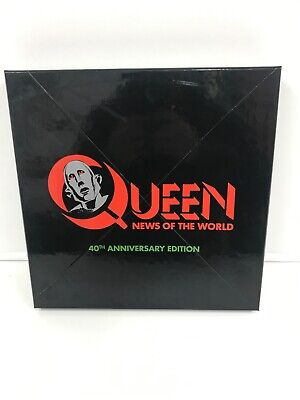 """Queen – News Of The World  12"""" LP 3CD & DVD SUPER DELUXE BOX SET New See Photos"""