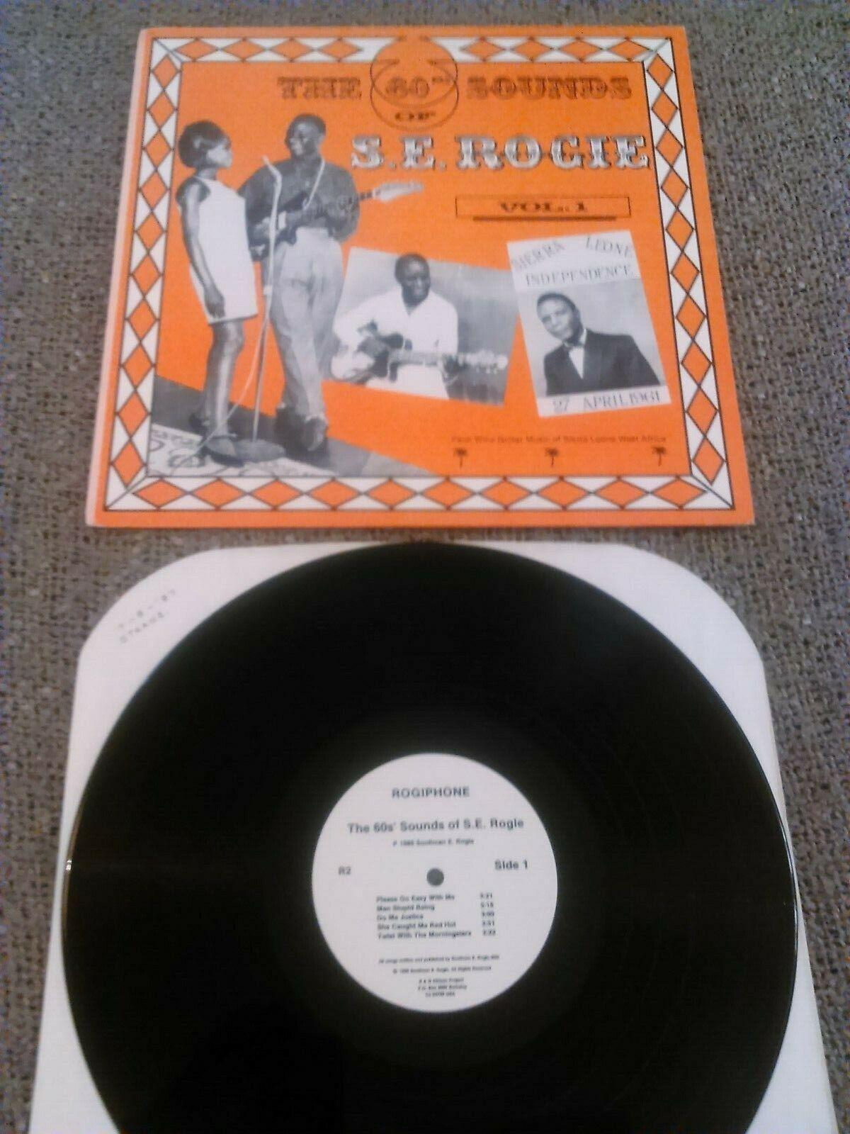 S.E ROGIE - THE 60s SOUNDS OF ... LP N. MINT!!! ORIGINAL U.S ROGIPHONE PALM WINE