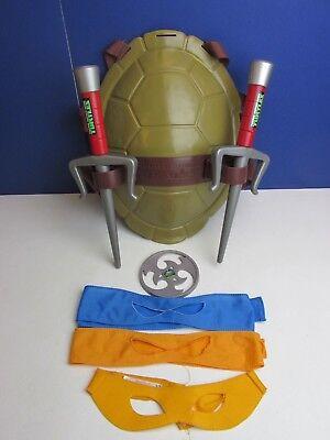 Teenage Mutant Ninja Turtle Dress Up (TMNT teenage mutant ninja TURTLE SHELL RAPH SAI WEAPON kid costume dress up  03B)