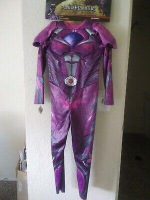 Pink Power Ranger Outfit (Power Rangers Girls Pink Ranger Costume & Mask Halloween)