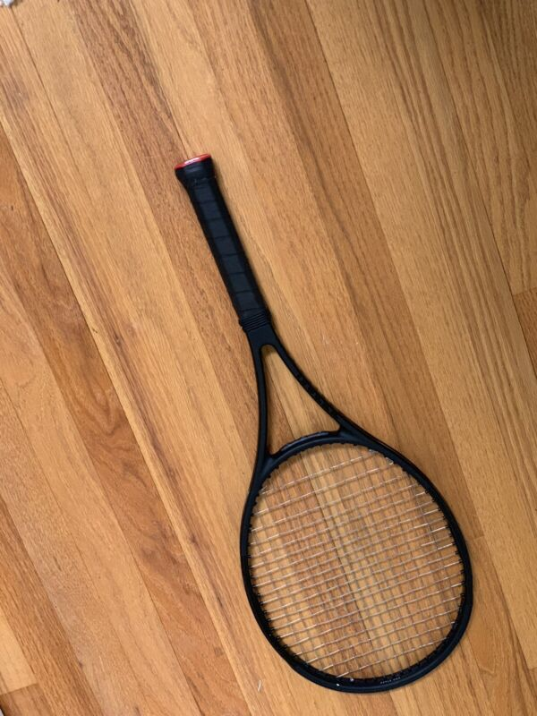 Wilson Pro Staff 97 Countervail Tennis Racket. Grip Size 4 1/4. Black Edition.
