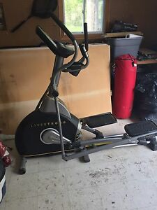 Live strong LS8.0E elliptical