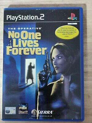 Sony PS2 No one lives forever - PlayStation 2 Game - complete , used for sale  Shipping to Nigeria