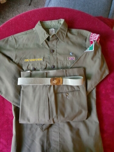 Cubmaster uniform early 60