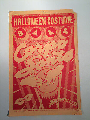 1979 GUY JUKE Armadillo World Headquarters Halloween Costume Ball Austin TX - Costume World Austin Texas