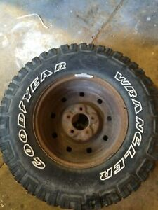 Tire and rim 16 inch