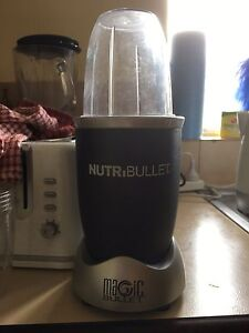 NutriBullet (perfect condition) used twice East Victoria Park Victoria Park Area Preview