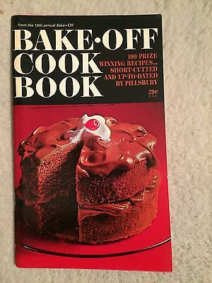 Pillsbury 18th Annual Bake-Off 1967 Cookbook - NEW