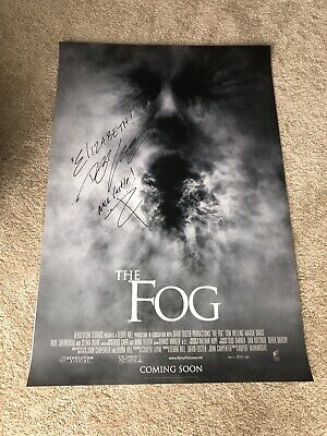 Tom Welling The Fog Smallville Signed Original Double Sided Poster