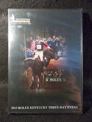 2013 Rolex Kentucky Three Day Event (DVD, 2013) Very Rare/BRAND NEW!