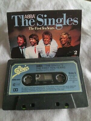 ABBA - The Singles First 10 Years - cassette tape album - Tape 2