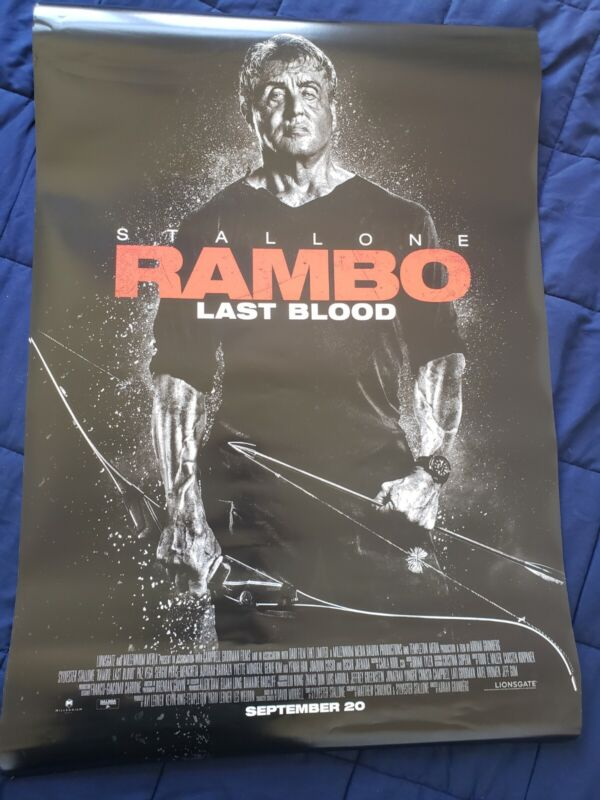 "Rambo Last Blood Movie Poster 27"" x 40"""