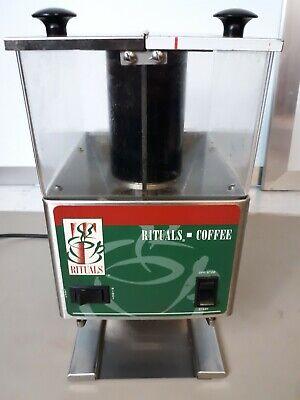 Bunn Twin Hopper Commercial Coffee Bean Grinder Rituals Coffee Model Lpga -2e