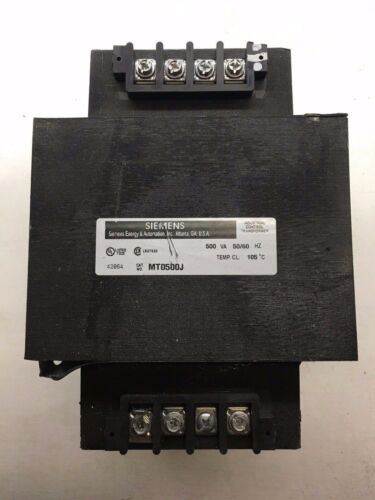 MT0500J Siemens Transformer .500KVA