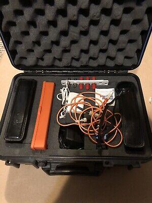 Siecor Fiber Power Meter Light Source Om-100som-100f Optical Power Meters Mm