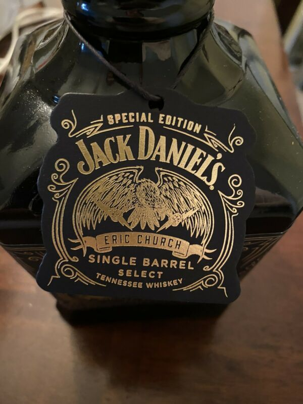 Eric Church Jack Daniels *Bottle Tag Only*
