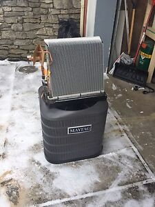 New maytag central air conditioner